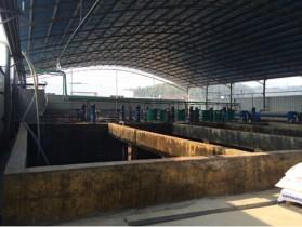 江西豐潤科技有限公司廢水處理工程